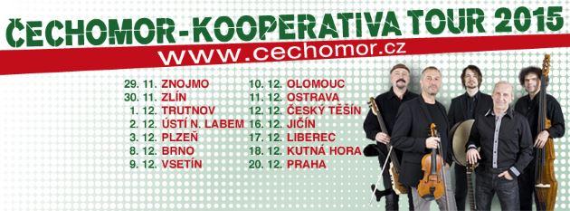 Zveme vás na vánoční koncerty skupiny Čechomor