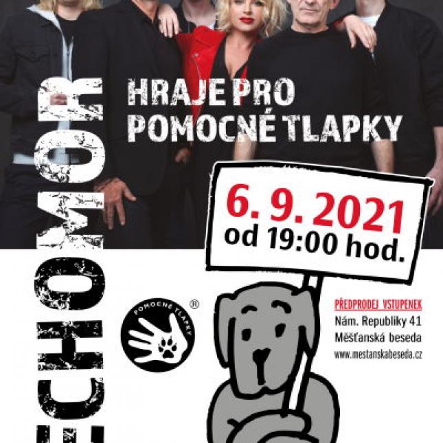 Čechomor hraje pro Pomocné tlapky 6. 9. 2021