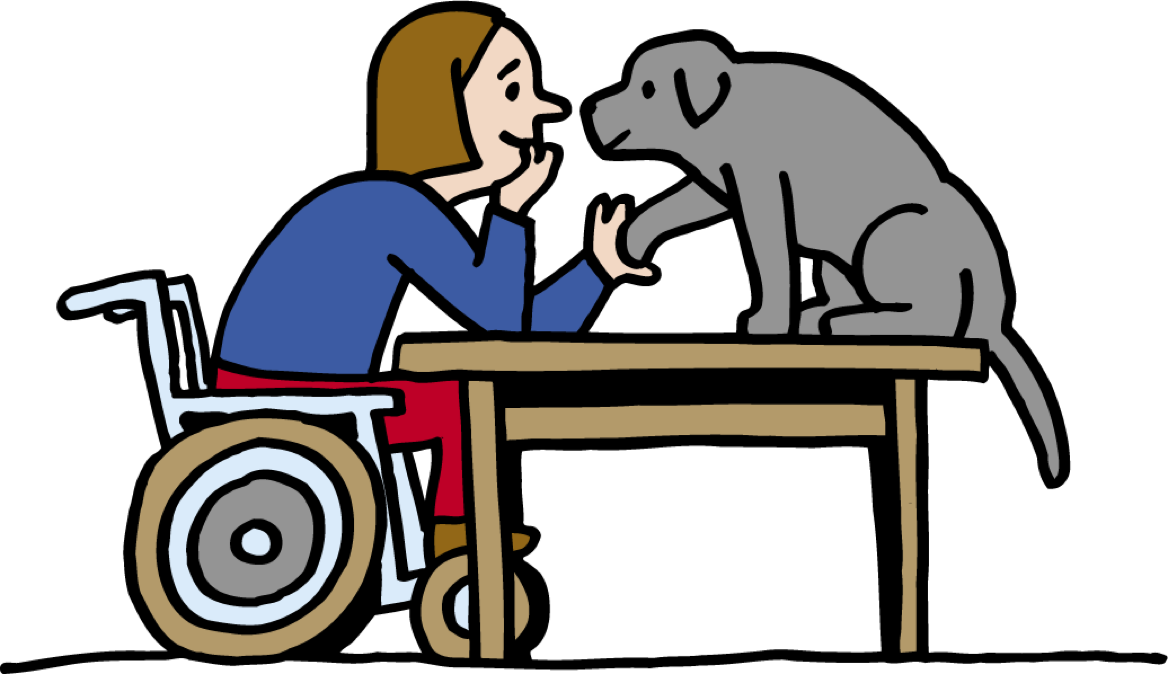 Helping and therapy dogs