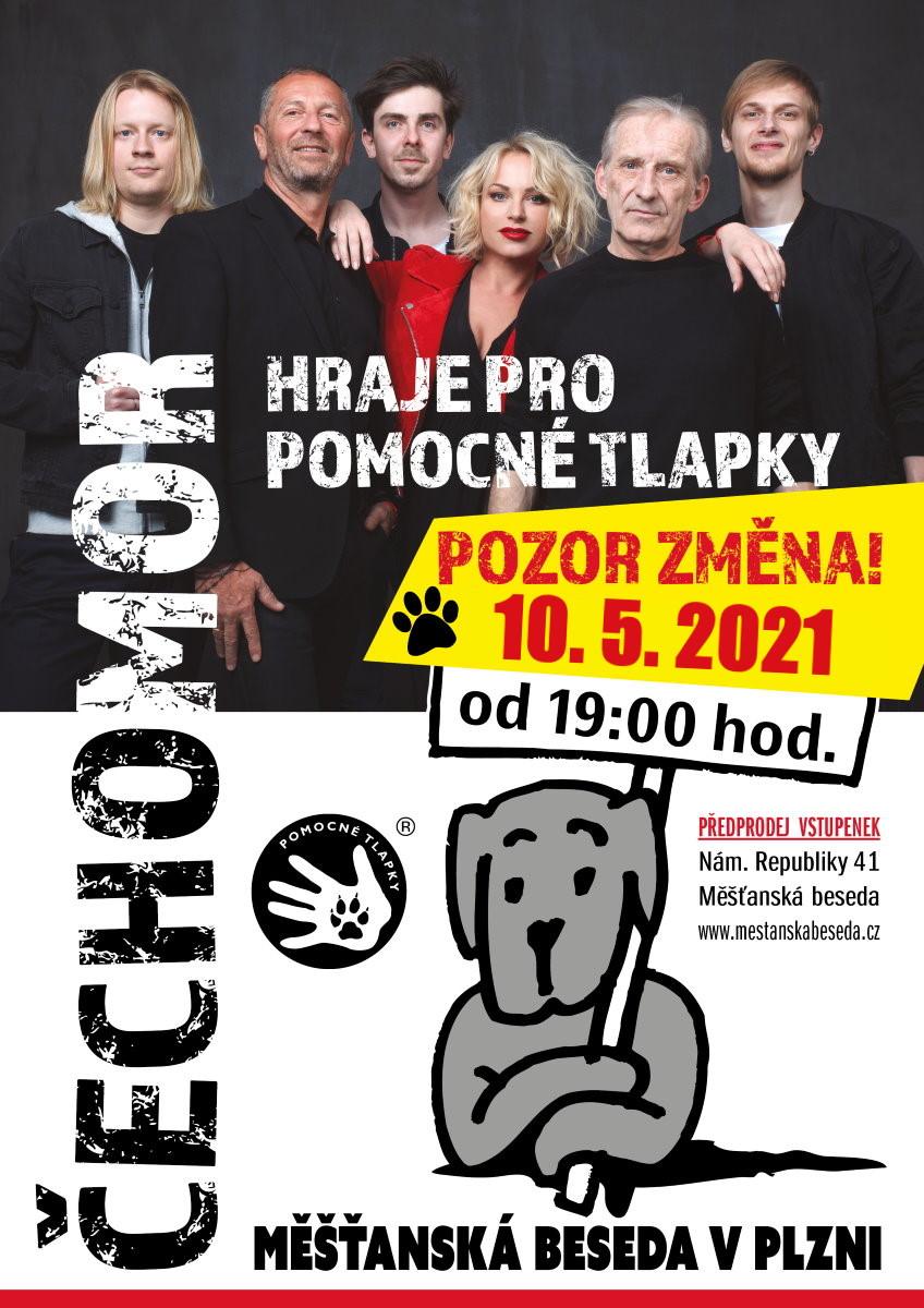 Čechomor hraje pro Pomocné tlapky 2020